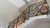 Rampe Escalier Style Art Déco - Ferronnier Avignon - Rampe sur Mensure