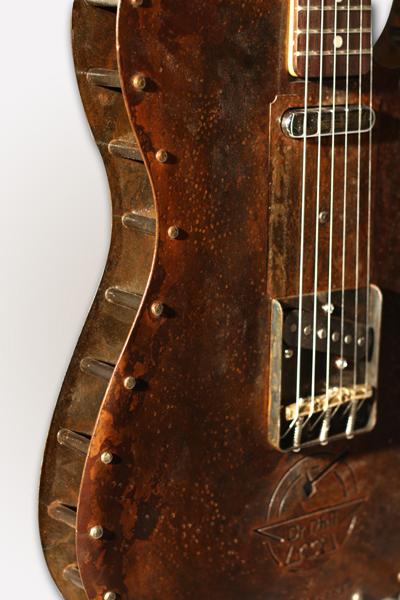 Guitares forgées