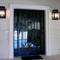 Porte d'entrée style XIX ème